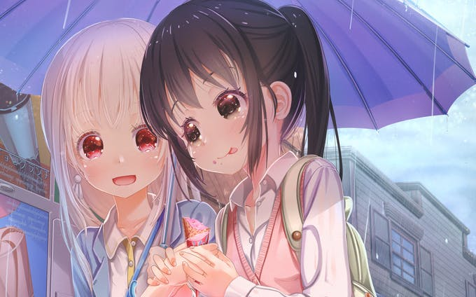 pixiv girls collection -if morning glory blooms-