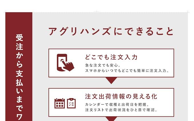 【ポスター】アグリハンズ