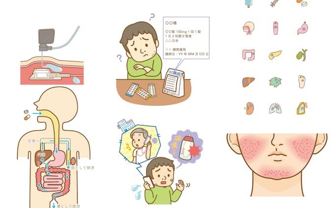 2019消化器ナーシング9月号『消化器がん化学療法ケア特集』説明カット担当