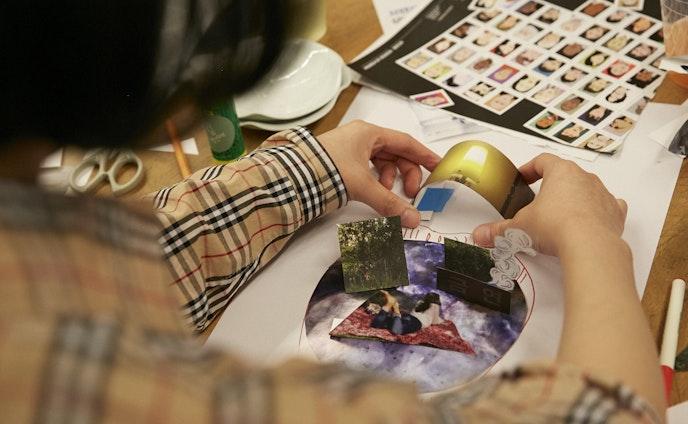 """【イベント】コーディネート   Ayumi Tanaka collage workshop """"RECONSTRUCT MEMORIES""""  in 韓国・ソウル"""