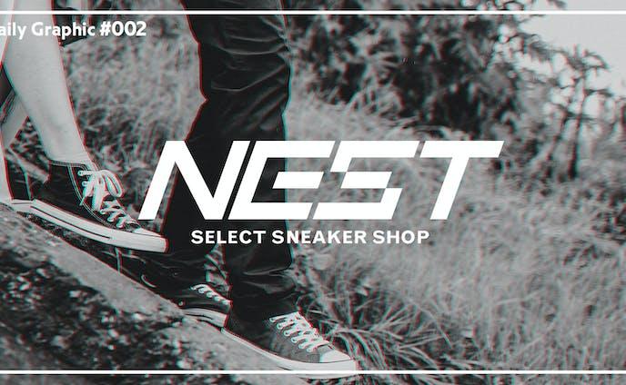 NEST-スニーカーショップのロゴ