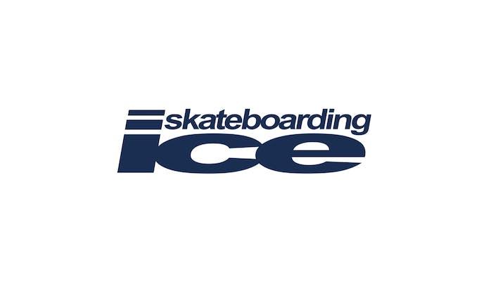 ice skateboarding logo