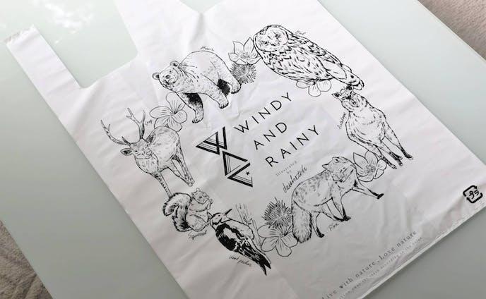 【イラスト】WINDY AND RAINY
