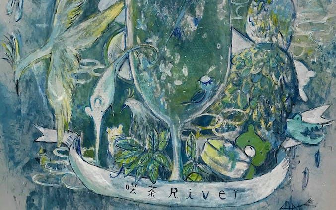 【Livepainting】喫茶River2020