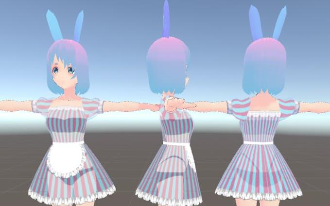 3Dキャラクター #01