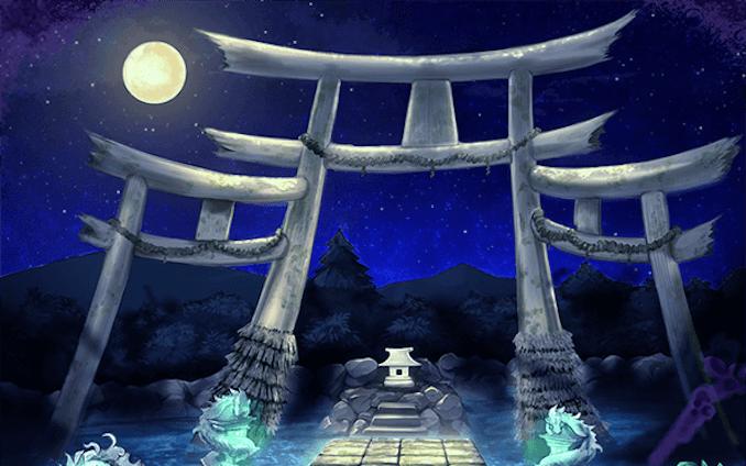 ゲーム「月詠物語」背景