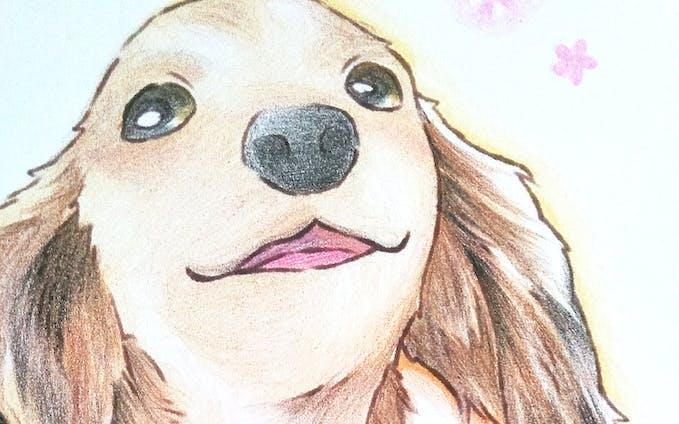 犬_似顔絵