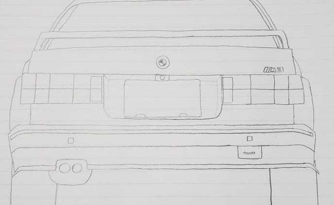 BMW E30M3 テールデザイン