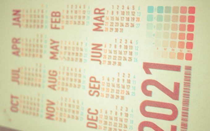 カレンダー -2021-