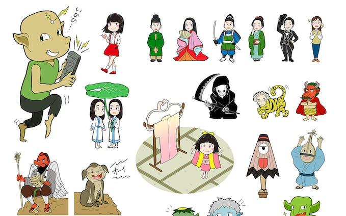 進研ゼミ 小学講座・かがく組 4年生 妖怪イラスト制作