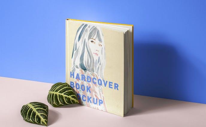 hardcover mockup