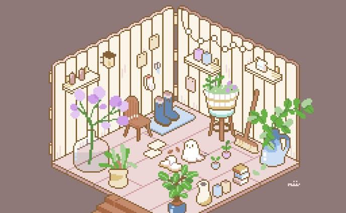 お部屋 園芸