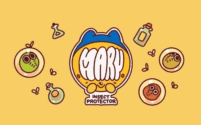 【キャラクターデザイン/コンセプトアート】MARY INSECT HUNTER