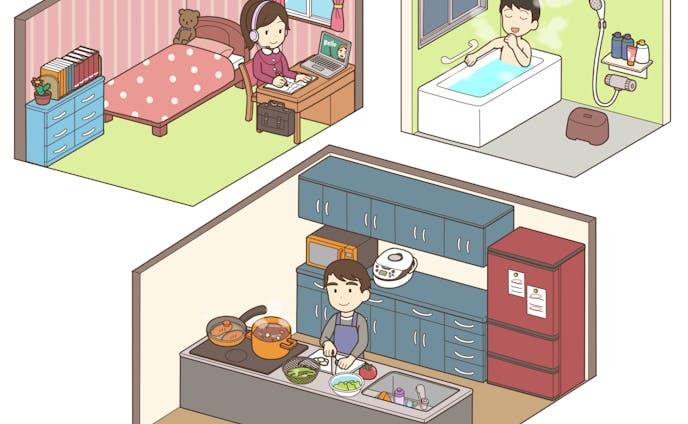 料理、男性