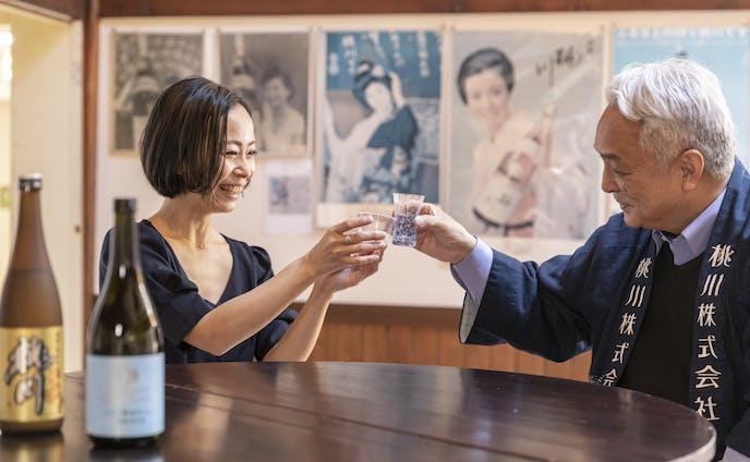 [桃川株式会社]青森の地酒を、酒器と訪ねて 地酒が教えてくれる一期一会の酒器選び