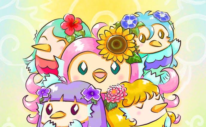 花いっぱいの夏