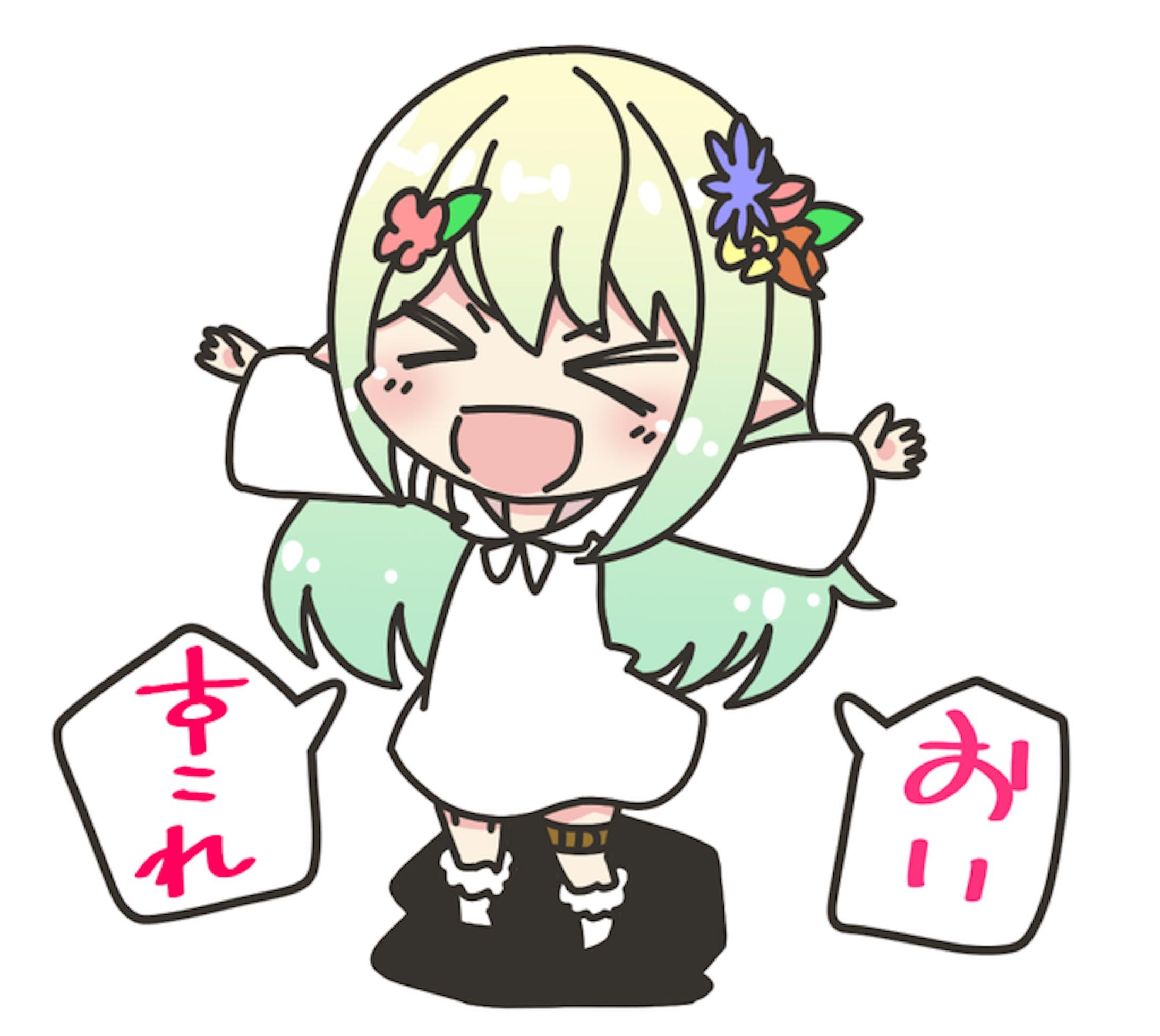 Vtuber さんらくがき-2019.05-08-10