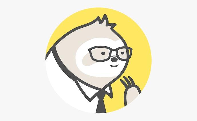 Twitterアイコンのキャラクターイラスト