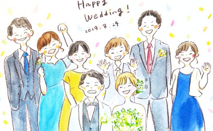 結婚式イラスト