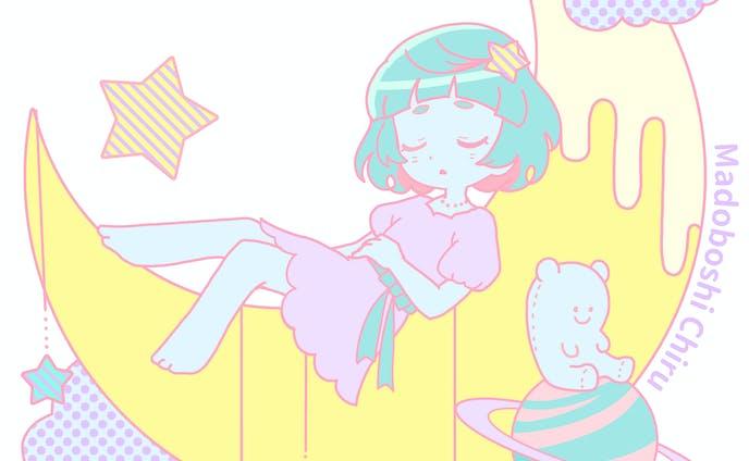 ちるグッズ カラー CMYK風