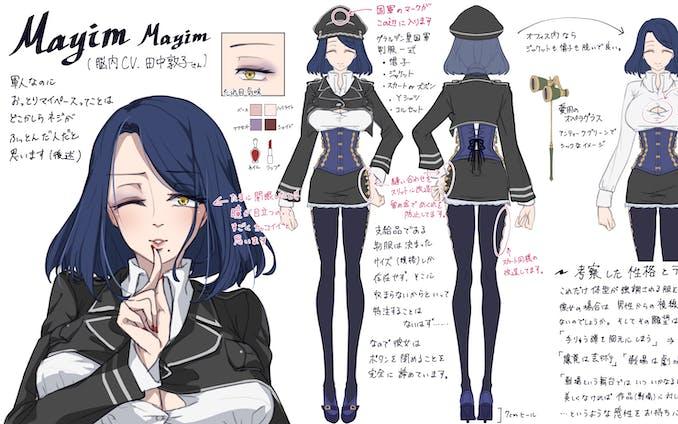 サウンド系キャラクターデザイン
