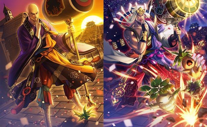 『聖戦ケルベロス』カードイラスト