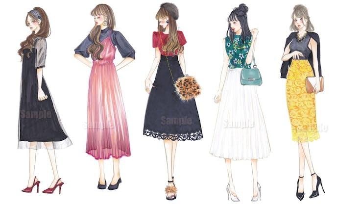 ファッション イラスト