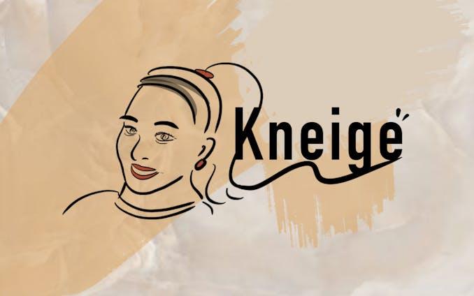 【ロゴデザイン】Kneige design(ネージュ)