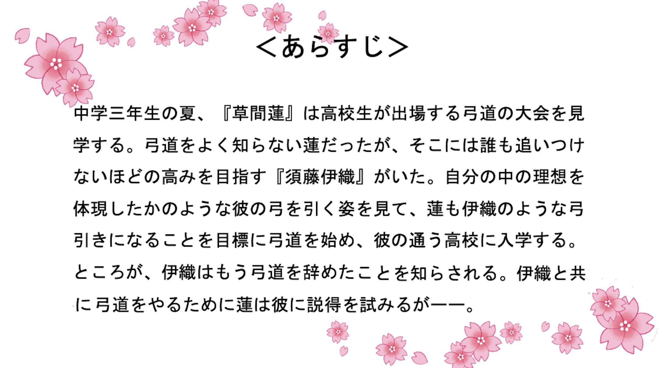 小説  射射恋々(いい れんれん)-2