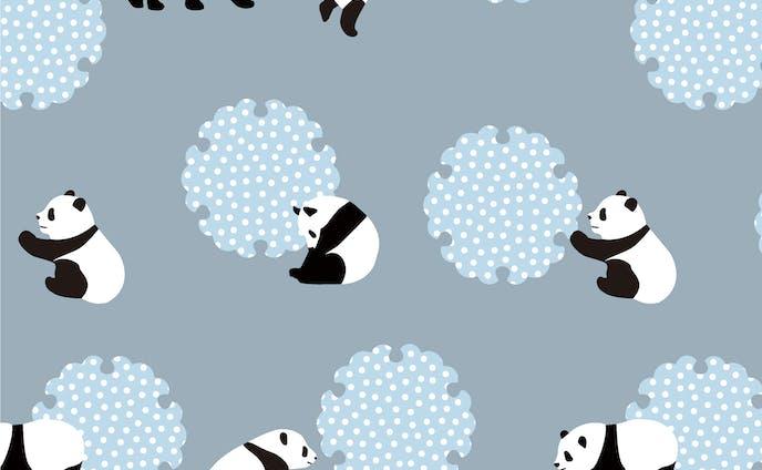 オリジナルパターン パンダ