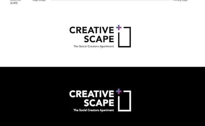 Creative Scape logo design