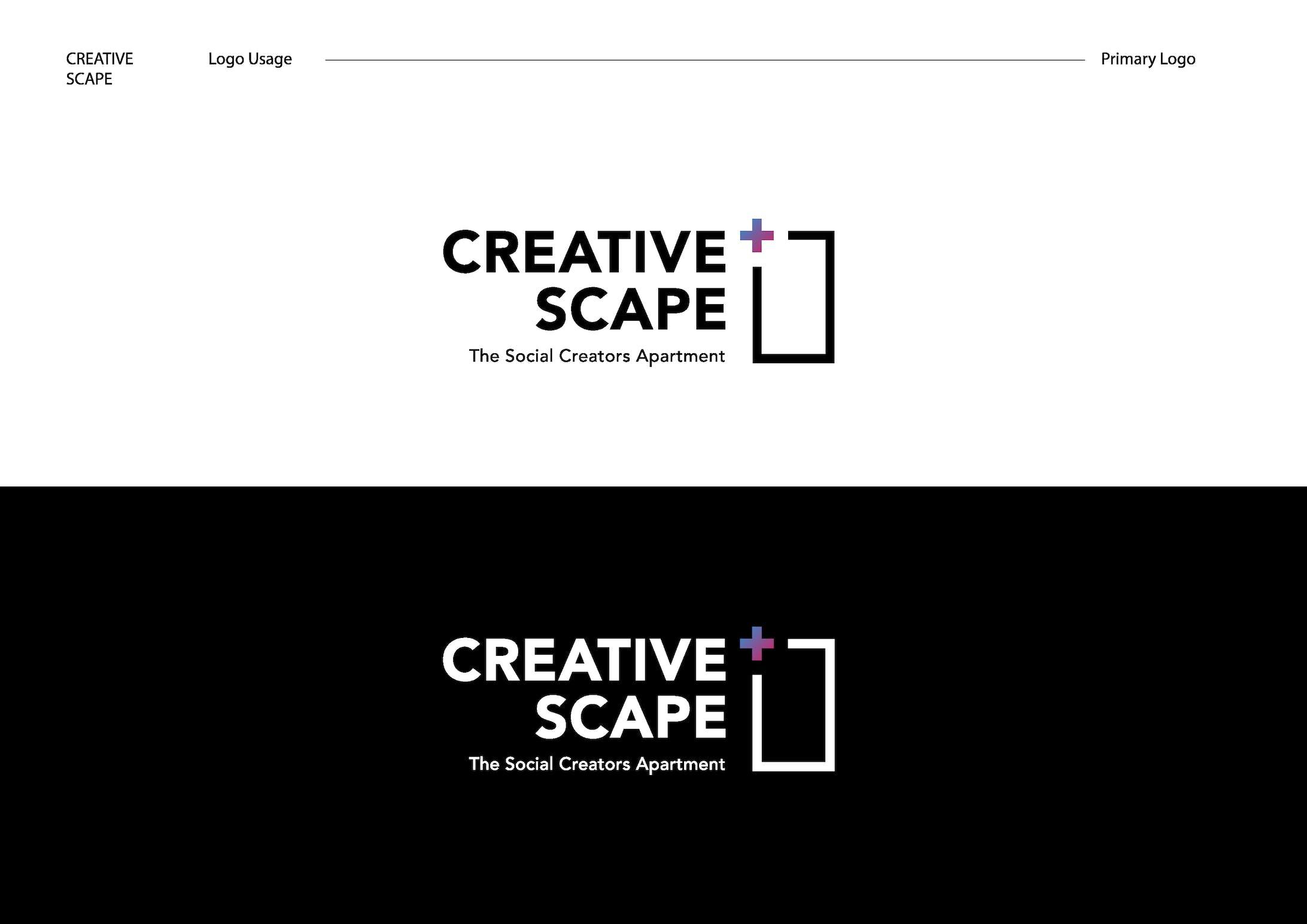 Creative Scape logo design-1