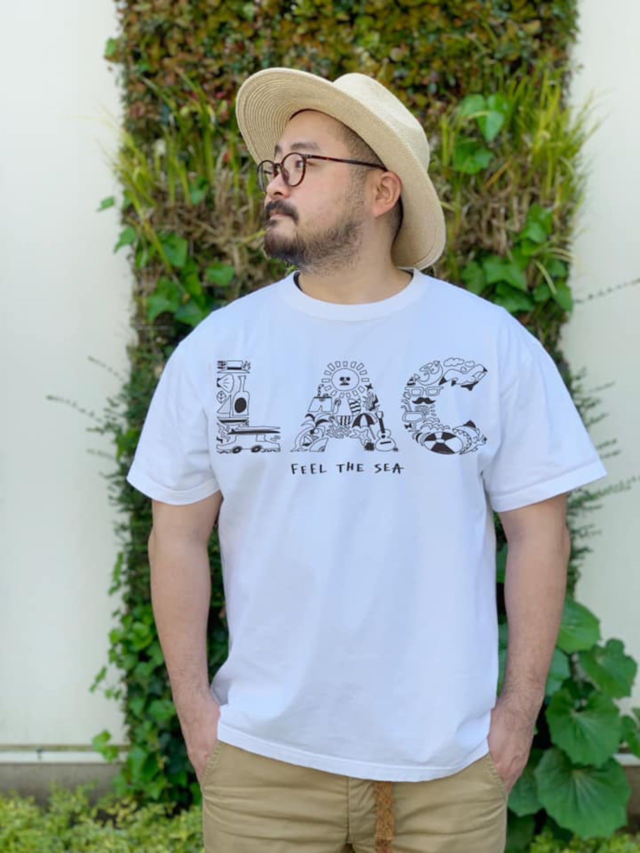 塗り絵Tシャツ - NURIE TEE --1