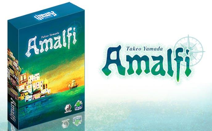 ボードゲーム『Amalfi』イラスト
