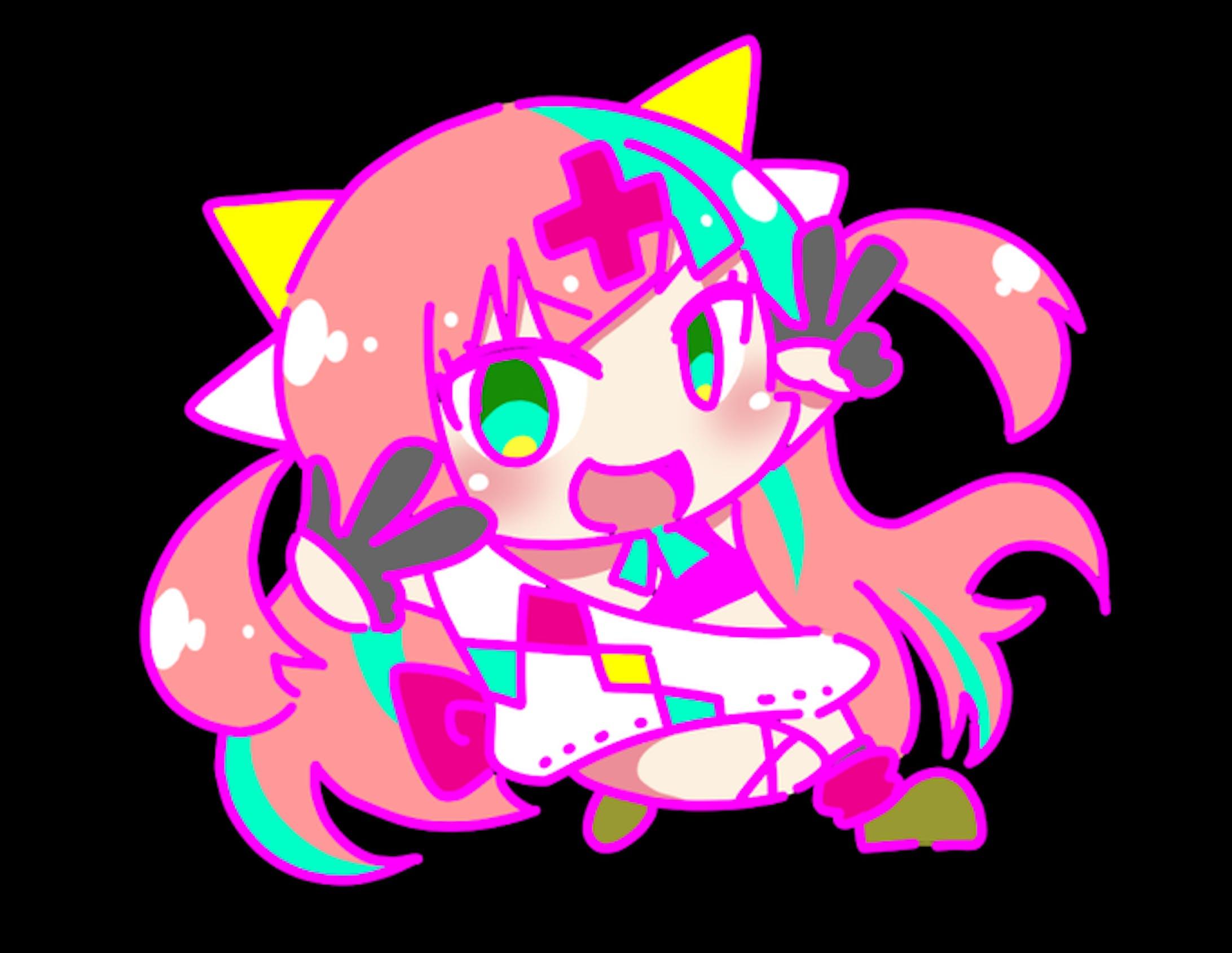 Vtuber さんらくがき-2019.05-08-15