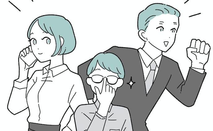 アウトライン有り(漫画タッチ)