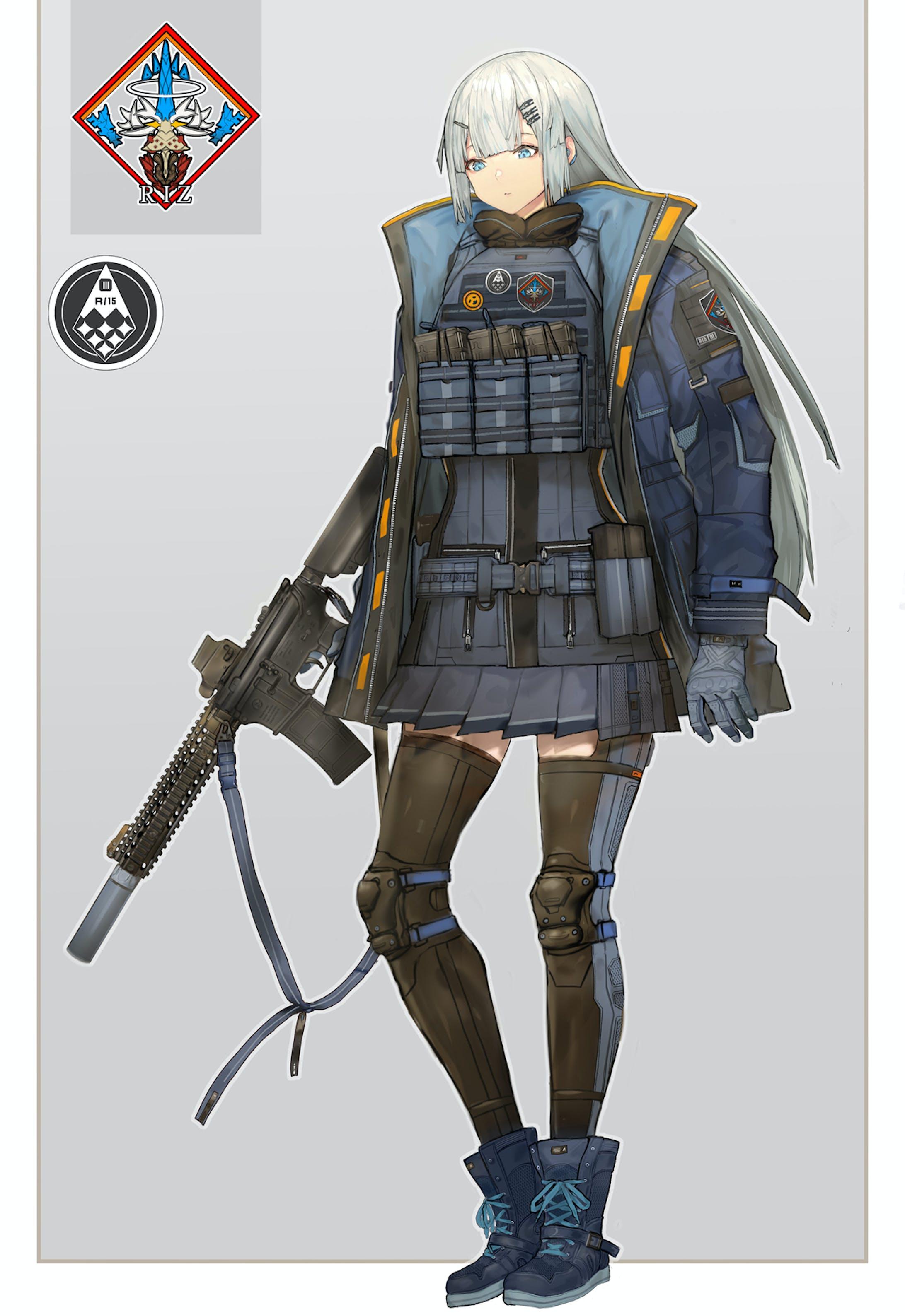 「創作」<創作>SF民間軍事会社-2