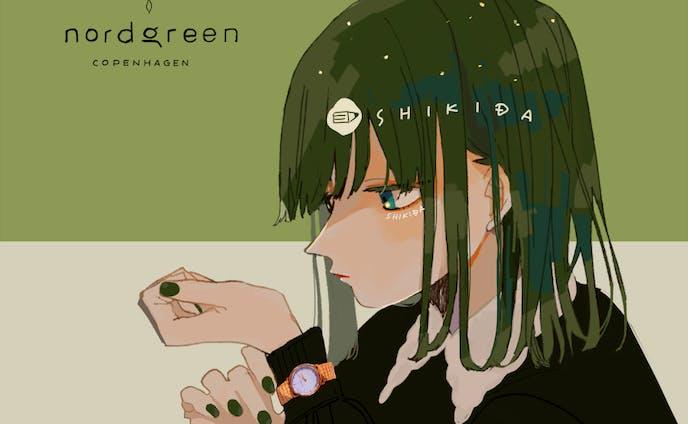 【works】nordgreen様 PRイラスト