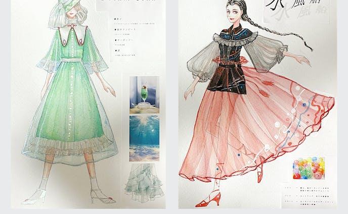 グラフィックデザイナー、イラストレーター、オリジナルキャラクター