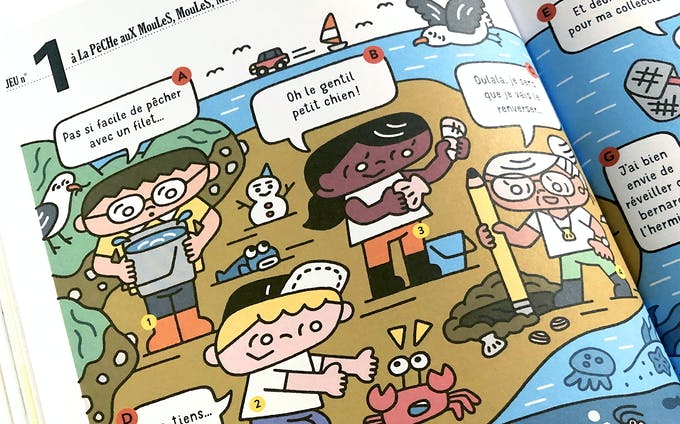 フランスの児童雑誌『Georges』N°Coquillage(Maison Georges)