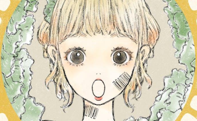 レタスガールの表情差分1、2、3
