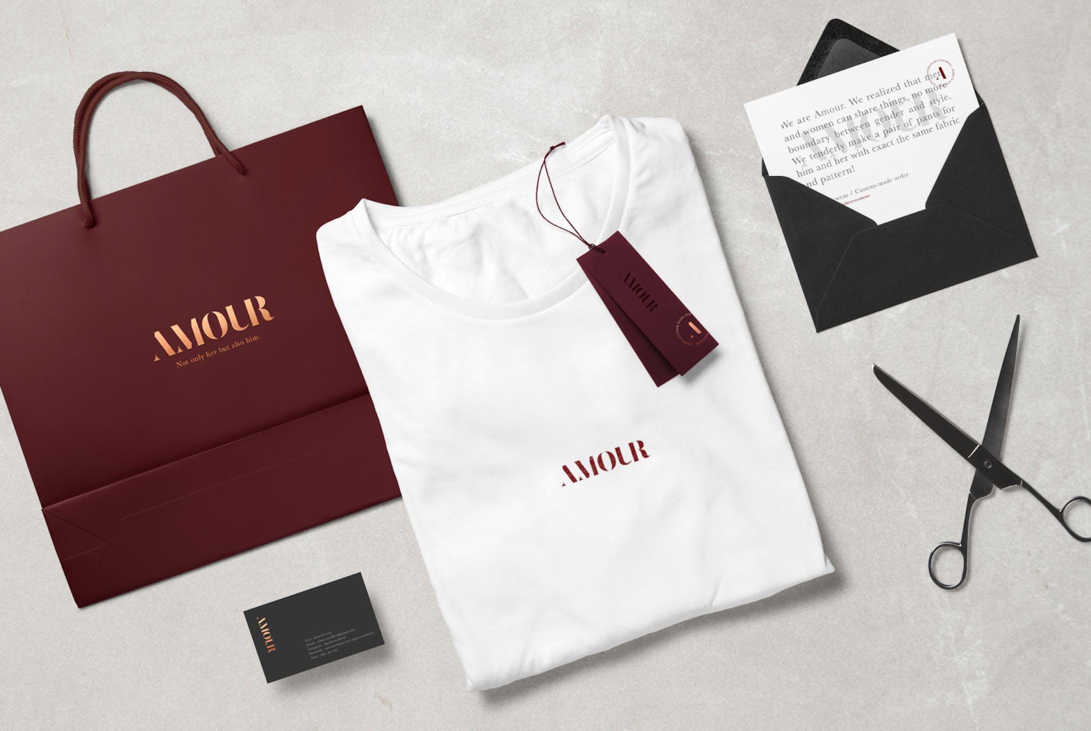 Amour Logo & Branding-2