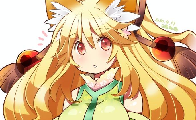 狐耳の女の子