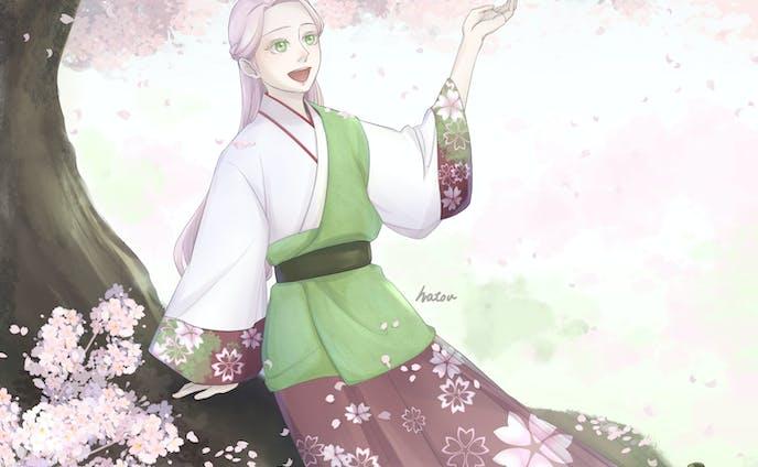 桜カラーイラスト2020