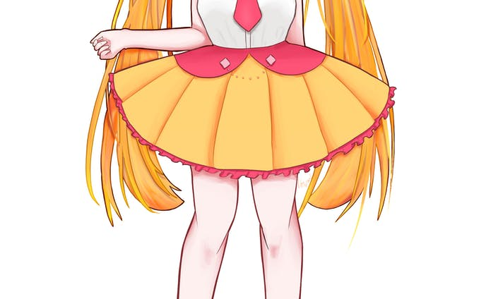 オレンジのアイドル 等身