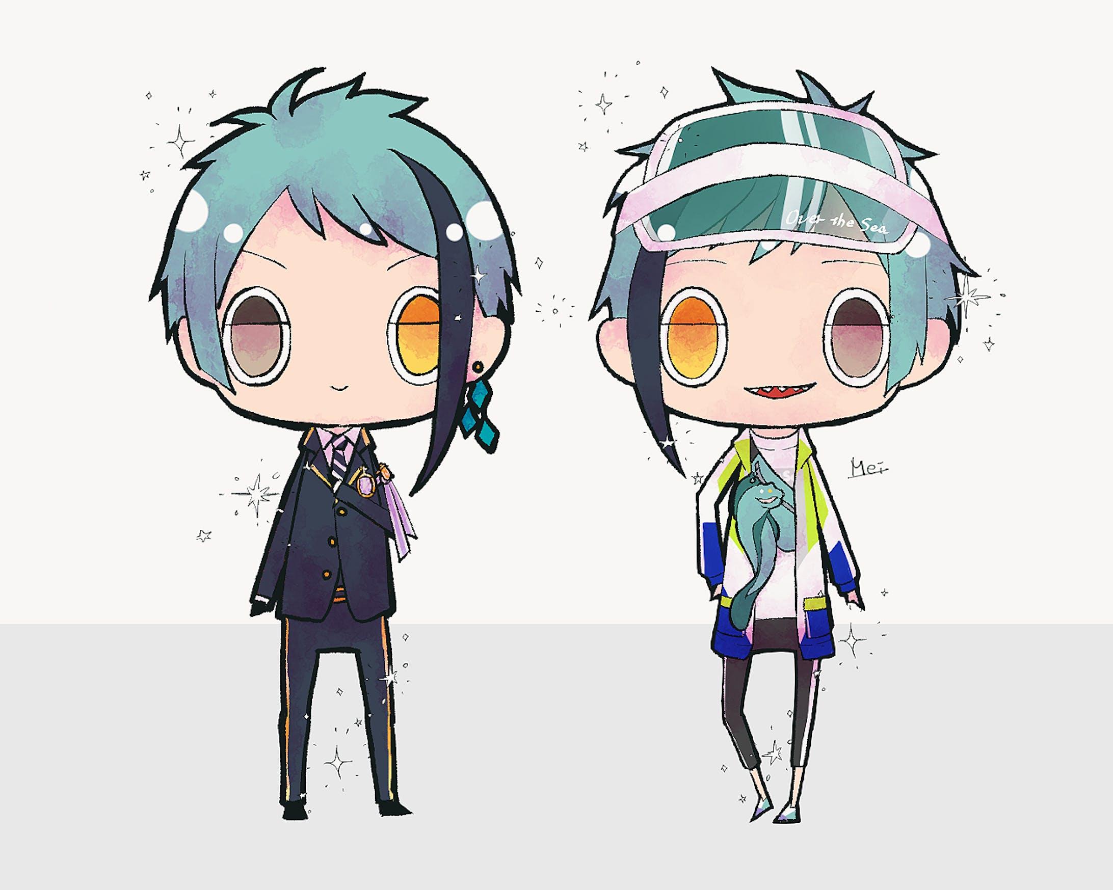 キャラクターデフォルメ-2