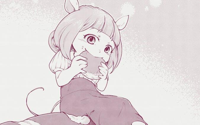 お腹いっぱい食べる子ちゃん6