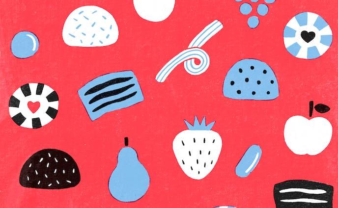 パターン | グミとキャンディー