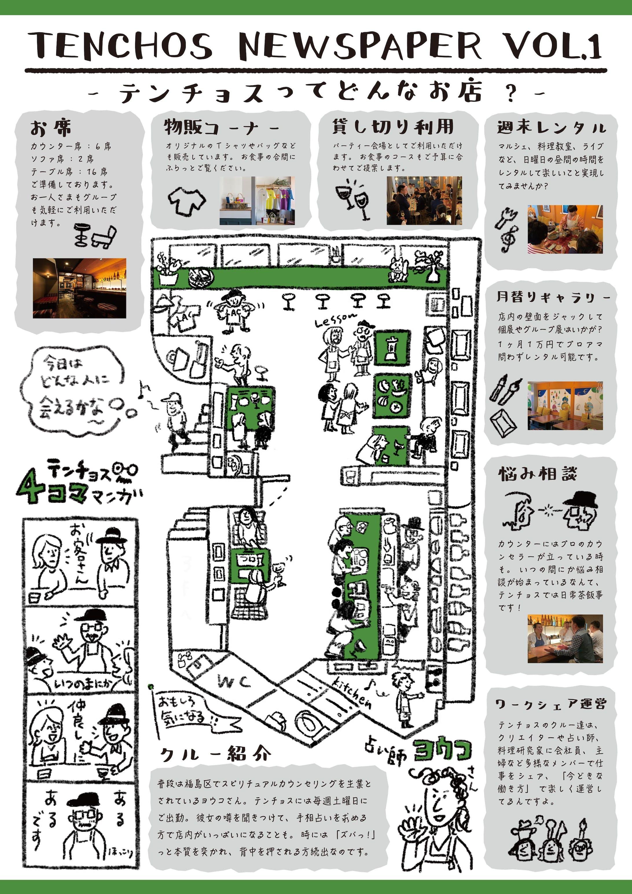 【フライヤーデザイン】TENCHOSチラシ-2