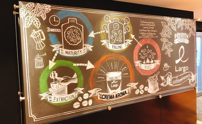 UCC_展示会壁画